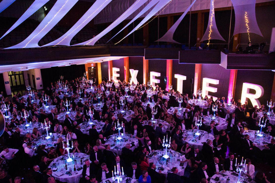 Proud sponsors of Exeter Living Awards 2019