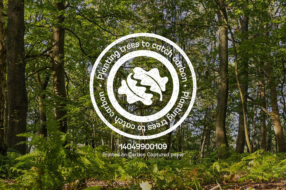 Proud to support The Woodland Trust Carbon Capture Scheme
