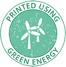 Printed Using Green Energy